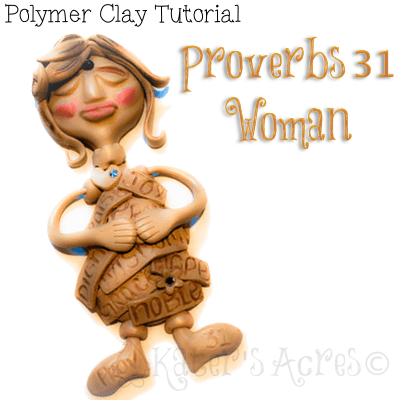 Proverbs 31 Woman Wall Figurine Tutorial by KatersAcres