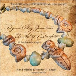 Polymer Clay Gemstones: The Art of Deception by Randee Ketzel and Kim Schlenke | May 2016 Polymer Clay Book of the Month