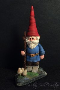Polymer Clay Gnome-Jennifer Sorensen 2016