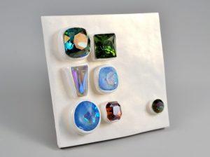 Uses: Christi Friesen Surface FX, B'Sue Glass Stones