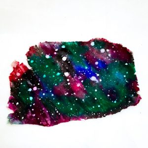 Polymer Clay GALAXY Technique Tutorial SAMPLE by KatersAcres