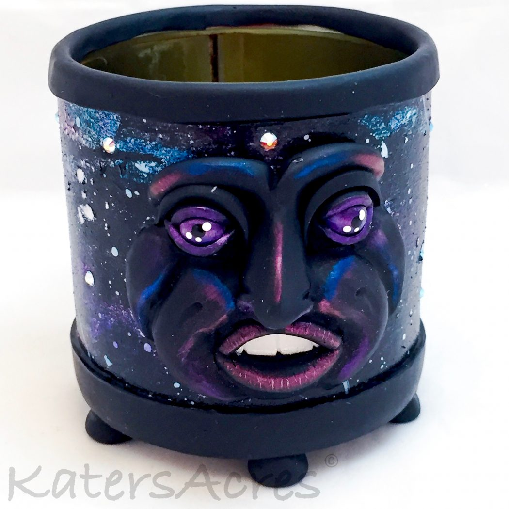 Katersacres Polymer Clay Space Tutorial Bundle Pack Of 4 Out Of This World Projects