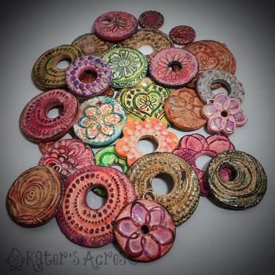 Cosmic Ceramic Bead Samples By KatersAcres