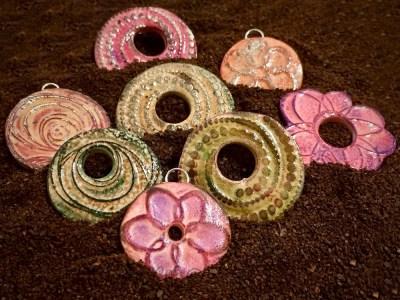 FAVORITE Cosmic Ceramic Bead Samples By KatersAcres