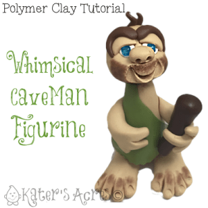 Polymer Clay Caveman Tutorial | Learn to Make Your Own Whimsical Figurine