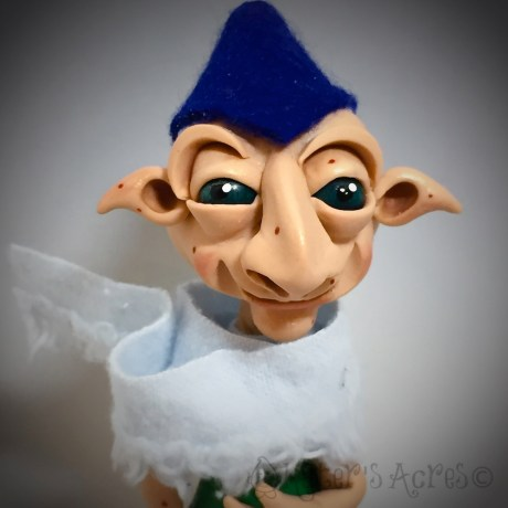 Polymer Clay 'Schrume, Troll Doll BYRD by KatersAcres