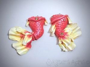 MERMAID Tail Pendant Duo by KatersAcres FINAL