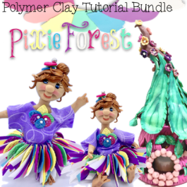 Pixie Forest Tutorial Bundle Pack for Polymer Clay by KatersAcres