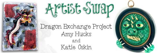 Dragon Exchange Artists Swap with Amy Hucks and Katie Oskin