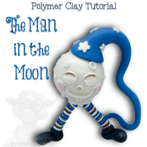 Polymer Clay Man in the Moon Tutorial by KatersAcres