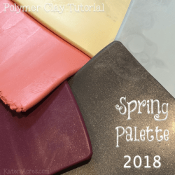 Polymer Clay Spring Color Palette