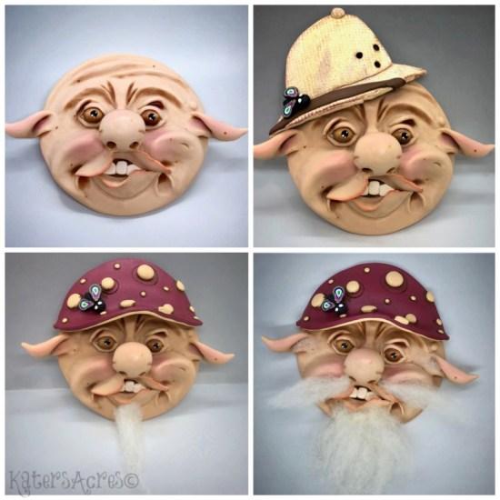 Reworking a Sculpture: Doofus Evolution by KatersAcres