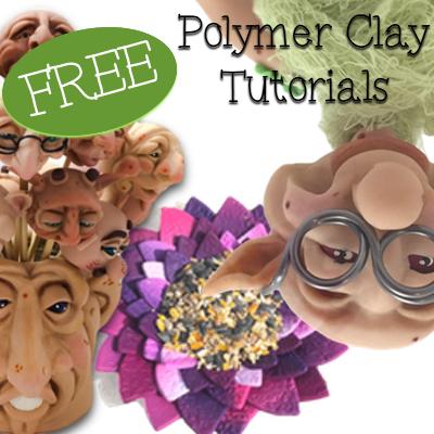 FREE Polymer Clay PDF Tutorials
