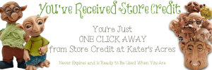 KatersAcres Store Credit Header