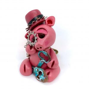 Steampunk Pig FRONT by KatersAcres