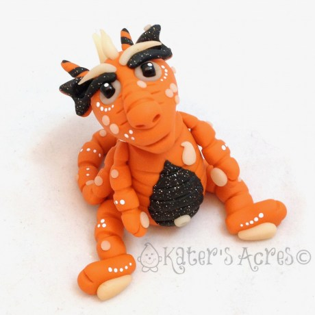 Hall O Een Polymer Clay Dragon by KatersAcres