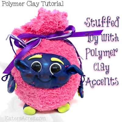 Stuffed Polymer Clay Toy Tutorial by Katie Oskin