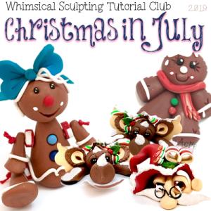 July 2019 Christmas in July - BASIC Club Members