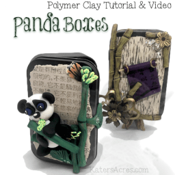Panda Boxes Tutorial by KatersAcres