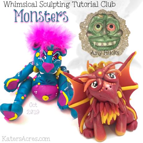 PREMIUM Club Tutorials -October MONSTERS