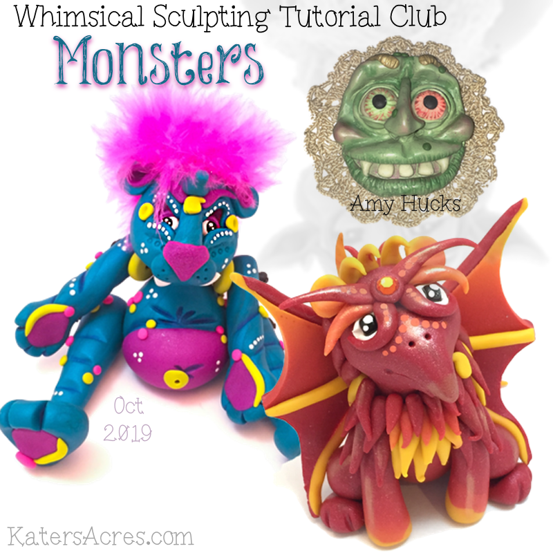 PREMIUM Club Tutorials -October MONSTERS