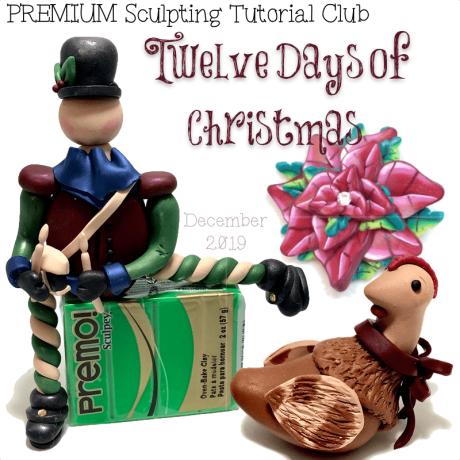 PREMIUM Club Tutorials - December 12 Days of Christmas
