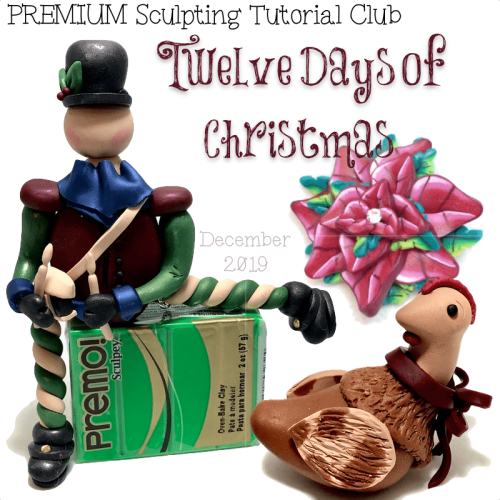 PREMIUM Club Tutorials - December 12 Days of Christmas
