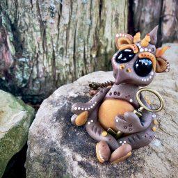 Keirsen the Key Guardian Dragon by Katie Oskin