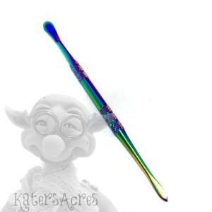 Sammie's Splendid Spoon & Spatula Sculpting (s5) Rainbow Tool for Miniatures