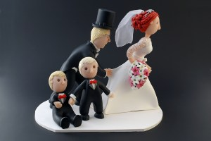 Wedding Cake Topper by Karolina Söderberg