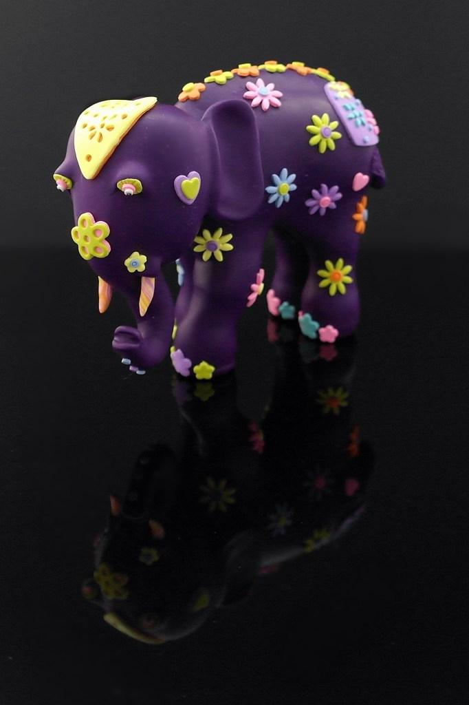 Polymer Clay Elephant by Karolina Söderberg