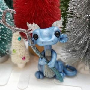 Icicle Dragon by Farm Girl Folly