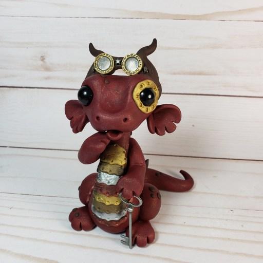 Steampunk Dragon by Farm Girl Folly