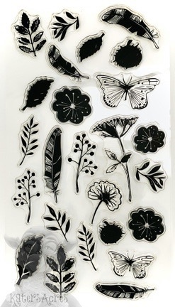 Stamp Set: Butterflies, Feathers, & Leaves from Kater's Acres