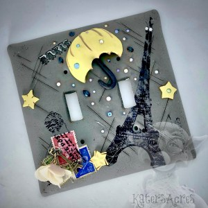 Rainy Day Switch Plate Tutorial by Kater's Acres
