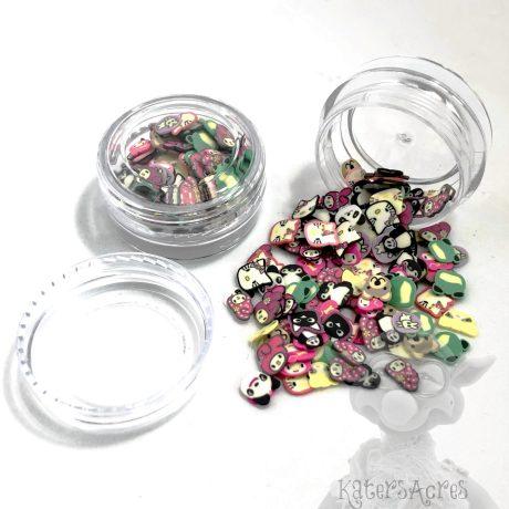 Millefiori Animal Cane Slices - 3g Small Jar