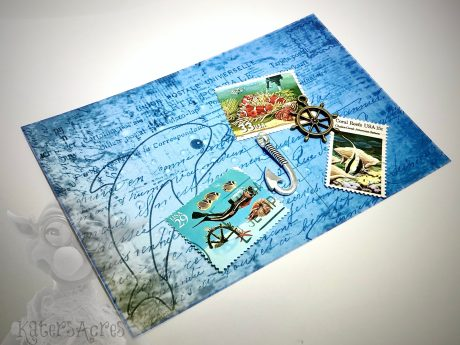 Ocean Mixed Media Bundle Pack from Kater's Acres