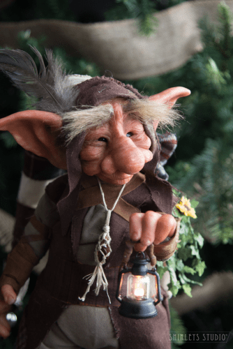Troll Leonard by Shirley's Studio Art Dolls