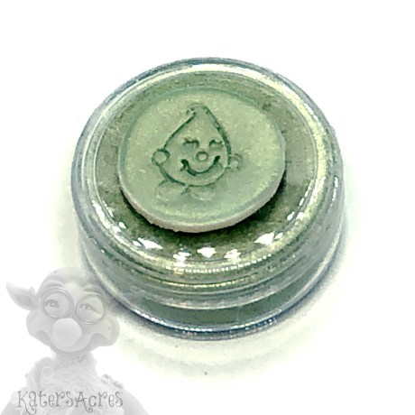 MOSS (Minty Golden Green) Mica Powder for Polymer Clay from Kater's Acres