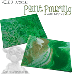 Paint Pouring VIDEO Tutorial by Monica Rice