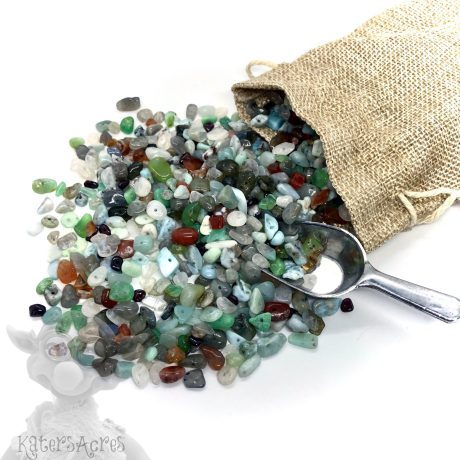 Semi-Precious Gemstone Chip Beads from KatersAcres