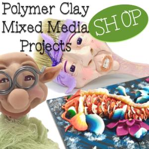 Polymer Clay MIXED MEDIA Header