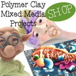 Polymer Clay & Mixed Media Tutorials