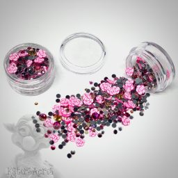 Rose Crystals & Slices for Valentine's Day from Kater's Acres