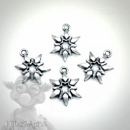Snowflake Charms / Star Charms from Kater's Acres