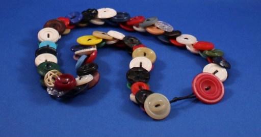 Monica Rice's Button Necklace