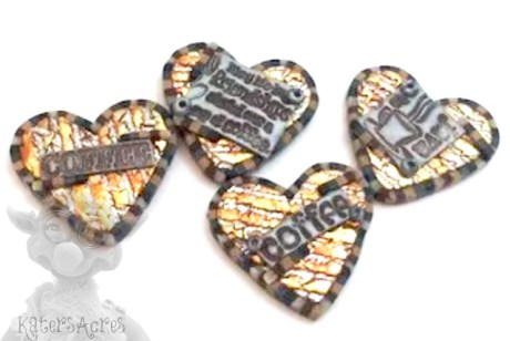 Coffee Hearts by Kater's Acres