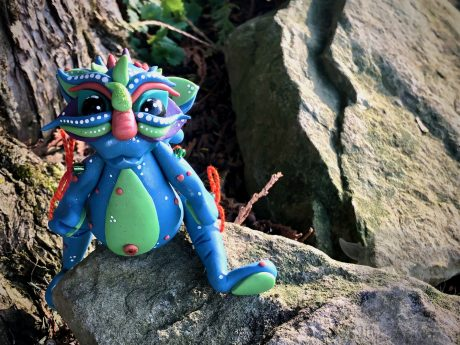 Flabbers the Dragon from KatersAcres | From the Chinese Dragon Collection