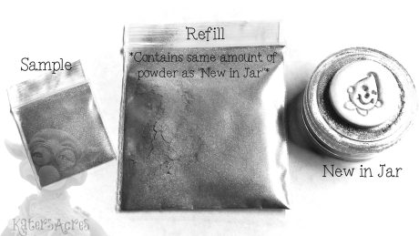Mica Powder Types from Kater's Acres