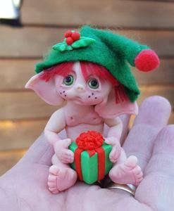 christmas elf by Gail Wilson